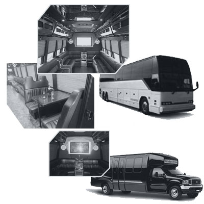 Party Bus rental and Limobus rental in Vancouver, BC