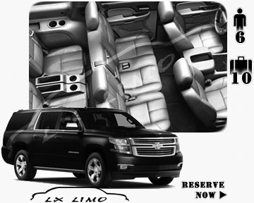 SUV Suburban for hire in Vancouver