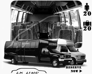 Vancouver Mini bus for hire in Ontario